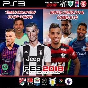 Patch Brasileirao Atualizaçao Pes 2018 Ps3