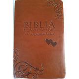 Biblia Devocional. Ntv. Imitación De Piel, Dúo Tono Marron
