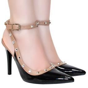 Sapato Chanel Via Marte Festa Bico Fino Festa | Zariff