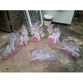 Unicórnio 6 - Display De Mesa Decoração Festa Infantil