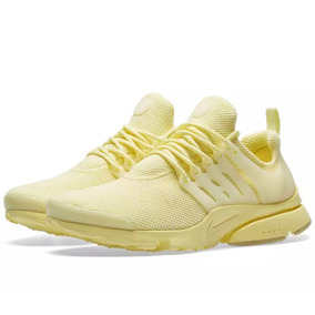 Nike Air Presto Essential Yellow Dama.- Últimos Pares!.