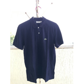 e2a9e4a18ea7a Camisa Polo Lacoste Importada Original - Camisa Pólo Manga Curta ...