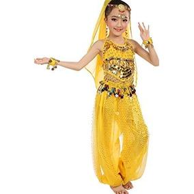 Vestuario Para Danza Árabe Vientre Belly Dance Accesorios