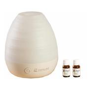 Difusor Humidificador  White + Aromaterapia + 2 Esencia