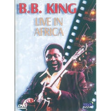 Dvd B B King Live In Africa Show Histórico 1974 - Lacrado