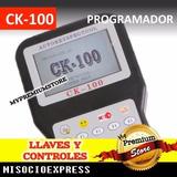 Ck-100 Programador De Llaves Y Controles Codigos Automotriz