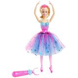 Muñeca Barbie Bailarina Dance Y Spin