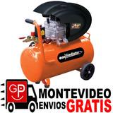 Compresor 40 Litros 1450 W - 2hp Ce 540 Gladiator G P