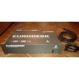 Consola 24 Y48 Canales Behringer Eurodesk Mx 8000 + Cobertor