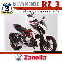 Moto Zanella Rz 3 2017 0 Km