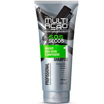 Helcla Shampoo Multiação Abacate Secos E Danificados 500ml