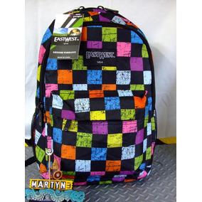 Mochila Eastwest U.s.a Square Color Serie Portalap Importada