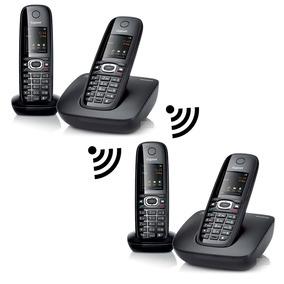 Teléfono Inalámbrico Gigaset, Paquete C590 Combo-4