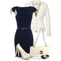 Vestido +blazer Moda Evangelica Elegante Cod#llac+