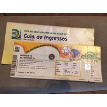 Ingresso Final Da Copa Confederações 2013 Brasil X Espanha