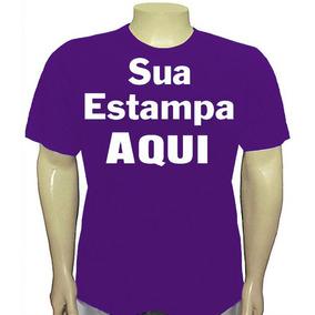 Camisetas Personalizadas (coloridas) - Uma Estampa Tam. A3