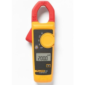 Alicate Amperímetro Digital Fluke 303 Cat Iii 600v