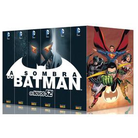 6 Caixas (box) Para 2ª Série A Sombra Do Batman
