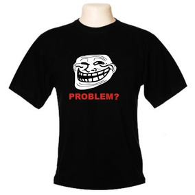 Camiseta Meme Troll Face - Wimza