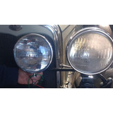 Luces Simil Ford A 1930 12 Volt Sellado Metal Cromo Par