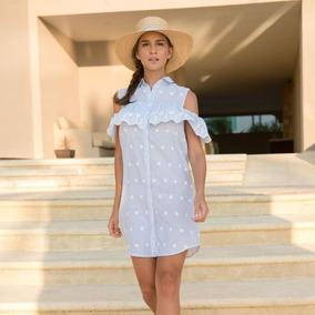 Vestido Holly Land, Bardot, Hombros Descubiertos, Sku 172970