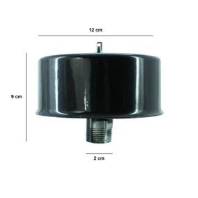 Filtro Cabezal Evans Aire Para Compresor Metalico 1 Pulgada
