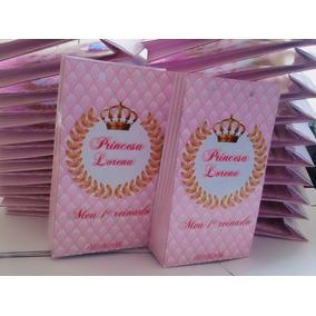 25 Sacolinha Surpresa Coroa Realeza Princesa Lembrancinha