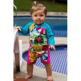 Vestido De Baño Bebe Con Proteccion Solar Ref 4102
