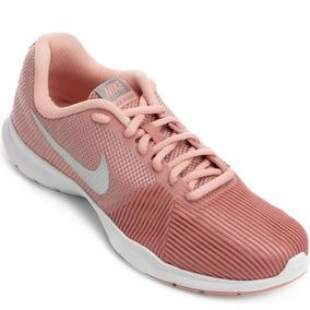 b1549369e5 Tenis Para Basquete Feminino Nike - Tênis para Feminino Rosa claro ...