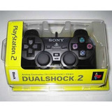 Control Ps2 Play 2 Nuevo Importado Dualshock 2 Sony