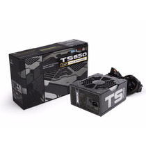 Fuente Xfx Ts Edition 650w Cables Mallados 80 Plus Bronce