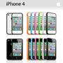 Bumpers Para Iphone 4 Y 4s Varios Colores.
