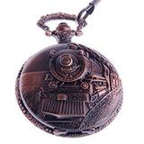 Shoppewatch Reloj De Bolsillo Con Cadena De Ferrocarril En