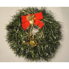 Navidad Roscas Para Puertas Adornos Navidenos En Mercado Libre - Coronas-de-navidad-para-puertas