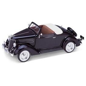 Auto De Colección Metal 1936 Ford Deluxe Cabriolet Welly