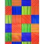Embalagem Saco Metalizado Abstrato Colorido 45x60 C/50 #119