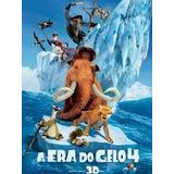 Colecao A Era Do Gelo 1+2+3+4 Dvds Originais