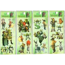 20 Planchas De Stickers Toy Story, Shrek