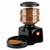 Dispensador Automático Alimentador Mascotas Perros Y Gatos