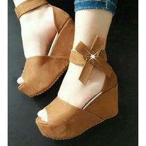 Tacón Plataforma De Moda (calzado Colombiano Para Dama)