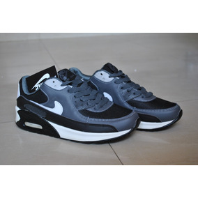 buy online 4f894 84269 Kp3 Zapatos Nike Air Max 90 Negro   Gris Solo Talla 40