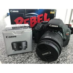 Câmera Digital Canon T3i + Lente 50mm