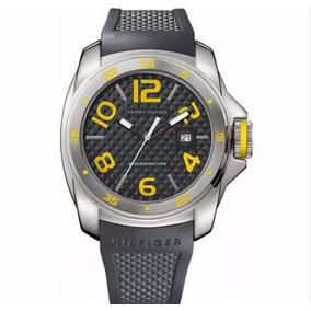 Relógio Tommy Hilfiger Pulseira Borracha Preta 1790712