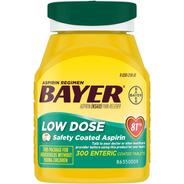 Bayer Aspirina 81 Mg 300 Tabletas