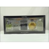 Kit 5 Perfumes Calvin Klein Lacrado Eternity Ck One Euphoria