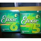 Cuerdas Elixir - Para Bajo De 6 ***visa***
