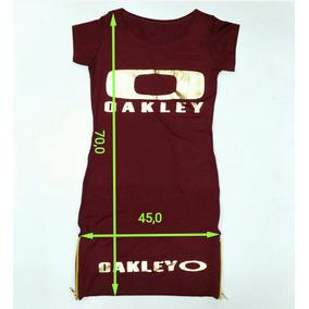 Vestido Oakley Modelo 2017 Veste Do P Ao G #01 Blusa,camisa