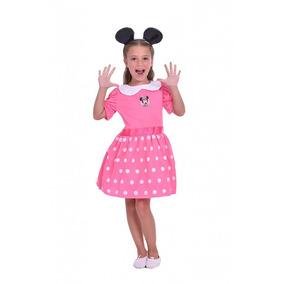 Disfraz De Minnie Mouse C/accesorio Luminoso Orig New Toys