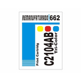 60 Etiquetas Hp Modelos Diversos 662 Preto /662 Color