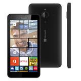 Lumia 640 Xl Dual Sim 4g Preto, Frete Grátis, Garantia